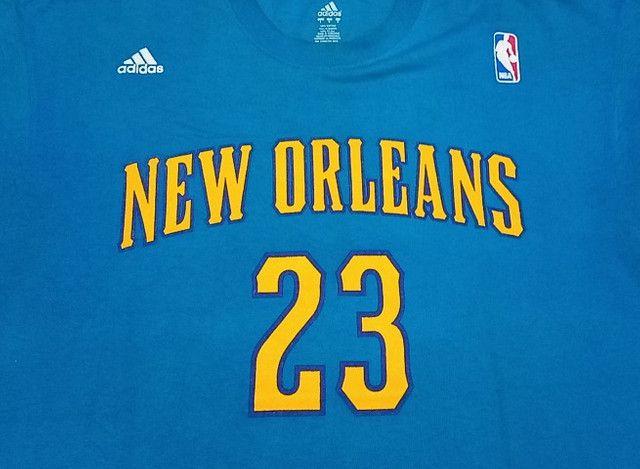 Camisa Adidas Nba Hornets Anthony Davis #23! Muito Rara! - Foto 3