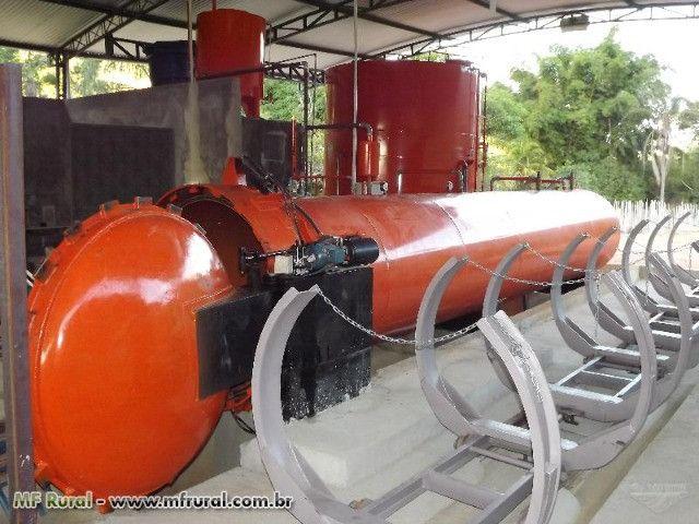 Autoclave para tratamento de madeiras - Foto 2