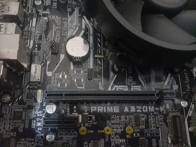 Kit Ryzen 5 com 12GB de memória - Foto 5