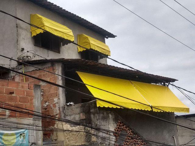 Toldo Cortina Varanda, Manutenção, Substituição de Lona e peças danificadas - Foto 5