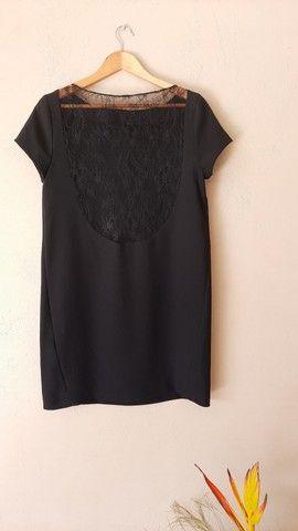 Vestido curto preto - Foto 2