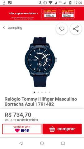 Relógio TOMMY HILFIGER.