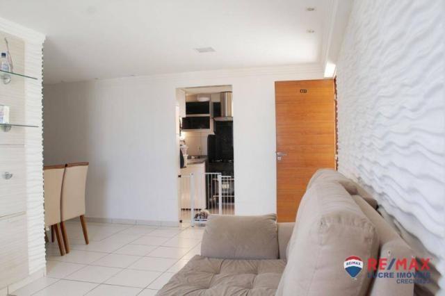Apartamento com 3 dormitórios à venda, 68 m² por R$ 215.000,00 - Jardim Cidade Universitár - Foto 4