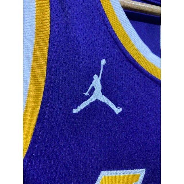 Camisa NBA Lakers bordada - Foto 3
