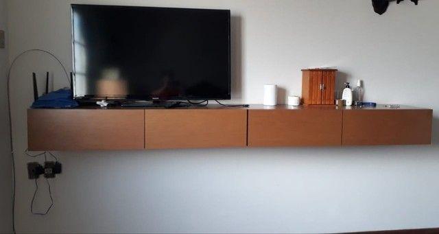 Vendo gaveteiro suspenso. madeira pura - Foto 3