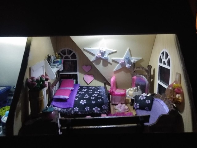 Casa de Bonecas Tipo Maquete  - Foto 6