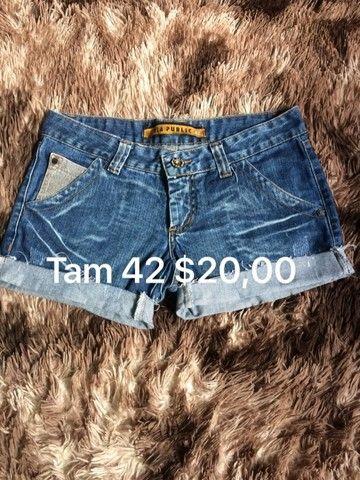 Shorts jeans tam 42