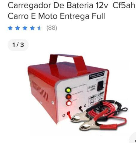 Carregador de bateria carro e moto - Foto 5