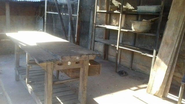 Patreleira de metalon e madeira  - Foto 2