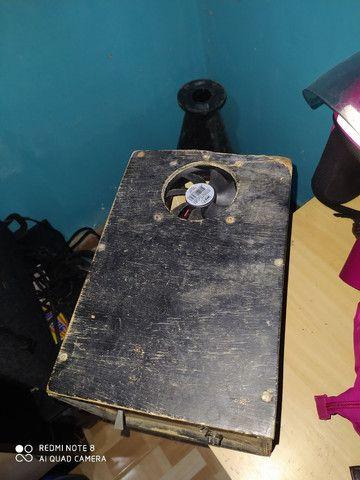Caixa de som e fonte caseira - Foto 2