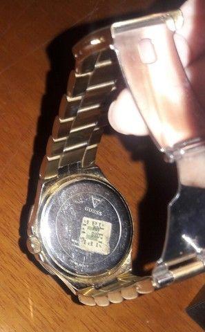 Relógio Guess Zircônias Original Unissex - Foto 5