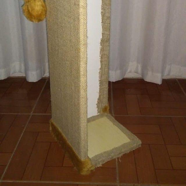Protetor canto sofá com tela dupla, bordas caramelo - Foto 3