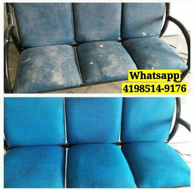 Limpeza e Higienização de Sofá Carro Carpete Colchão Cadeira Tapete - Foto 2