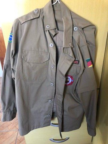 Kit roupa Bombeiro Civil