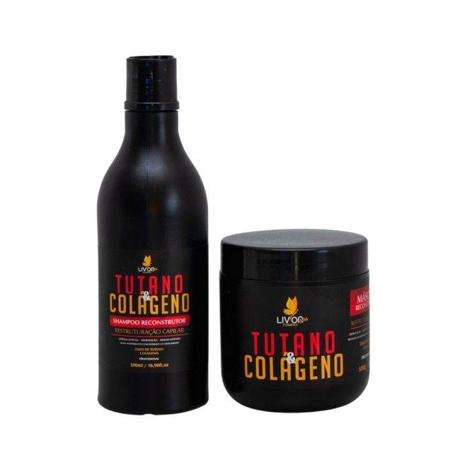 Kit Profissional para tratamento capilar Tutano e Colágeno