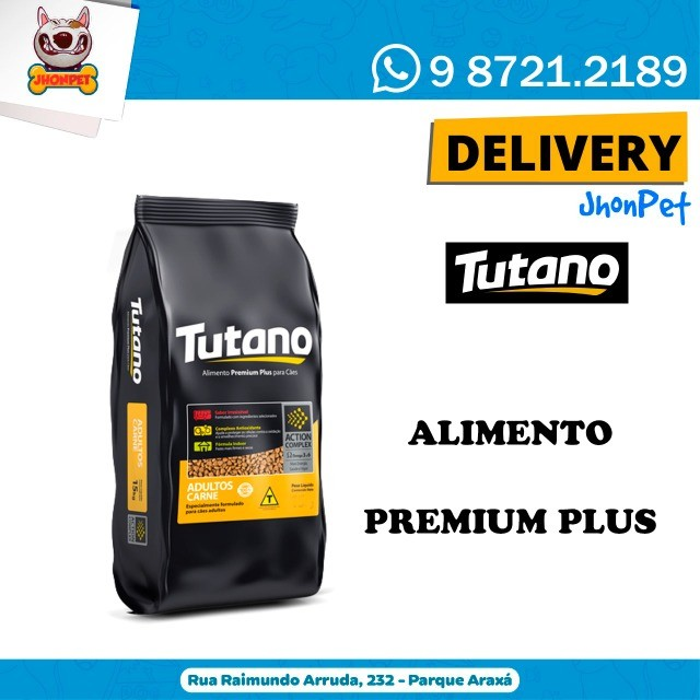 Ração Tutano Premium PluS Adulto ou Filhote - FreTe GrÁTiS - JhoNPeT - Foto 2