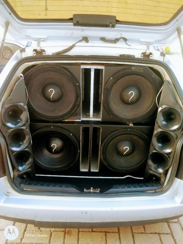 Parati turbo susp rosca legalizada som de 6000 rms 2 módulos  - Foto 5