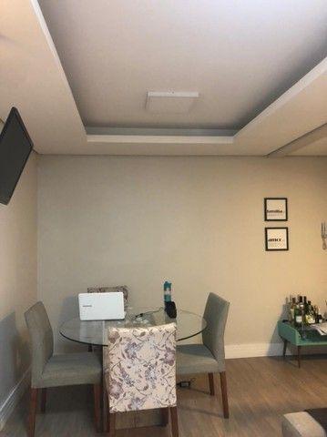 Apartamento semi mobiliado + garagem  - Foto 4