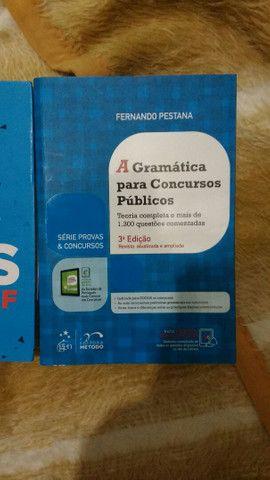 Livro de  português para curso