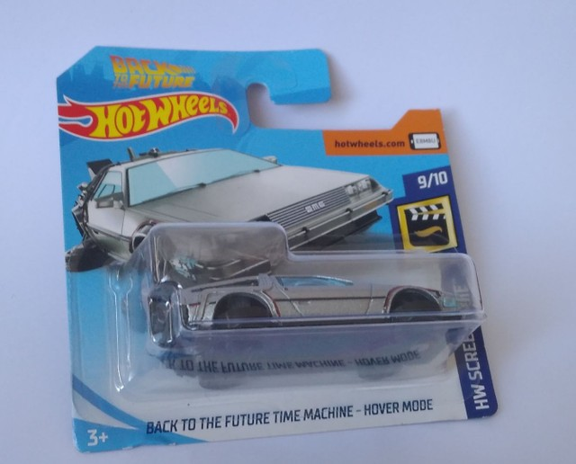 Hotwheels delorean máquina do tempo hover mode  - Foto 2