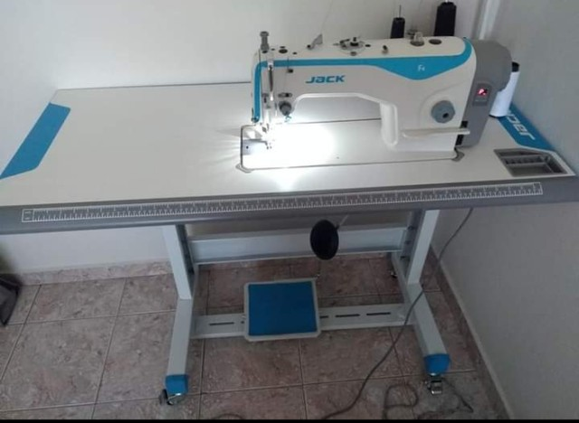 Máquina Reta Industrial Jack Novíssima - Foto 3