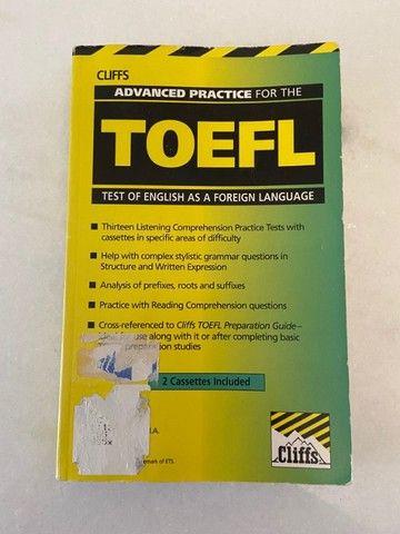 Livro de exercícios para Toefl - Cliffs