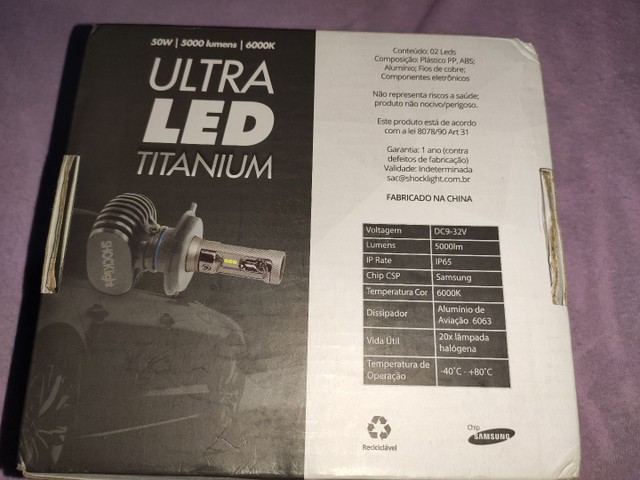 Ultra led shocklight hb4 - Foto 2