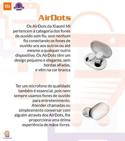 Redmi Airdots 2 Original + cabo usb extra - fone de ouvido sem fio bluetooth - Foto 6
