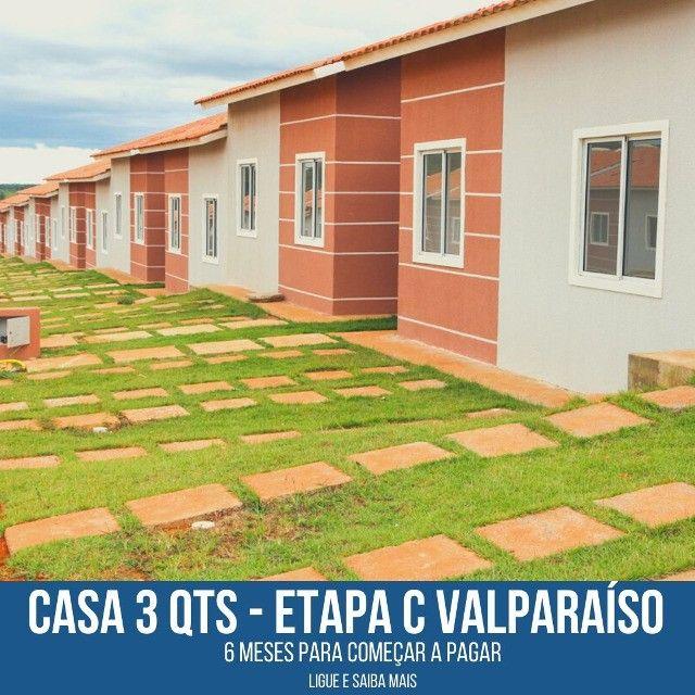 Casa em Condominio Etapa C - Lazer completo 2 qts - Foto 6