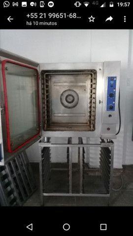 Forno elétrico combinado trifásico 220 volts - Foto 2