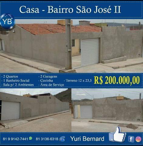 Casa no bairro São José ll R$200,000