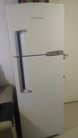 Refrigerador Frost Free Brastemp Clean Branco Semi Novo