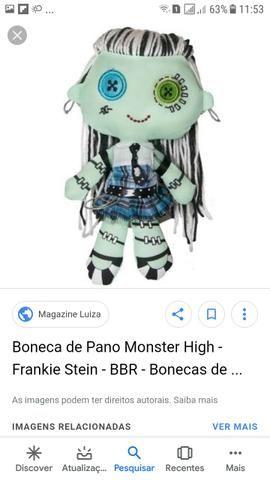 dd6d636d9 Boneca de pano Monster High - Artigos infantis - Calçada, Salvador ...