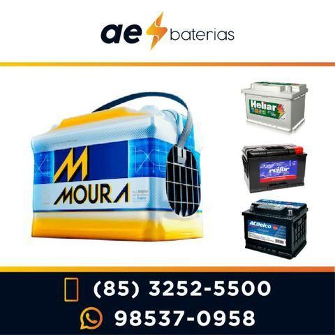 Bateria Moura De 48Ah, 50Ah ou 60Ah