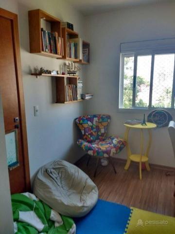 Apartamento com 3 dormitórios à venda, 69 m² por r$ 265.000,00 - vila monte carlo - cachoe - Foto 9
