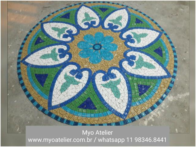 Golfinho mosaico piscina - Foto 4