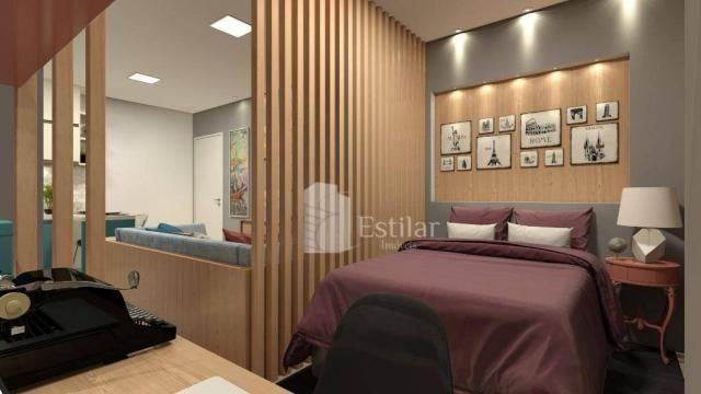 Studio com 1 dormitório no centro - são josé dos pinhais/pr - Foto 14
