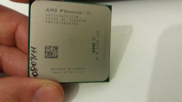 Processador Amd Phenom2 3.3ghz + Placa Mãe ( Leia )
