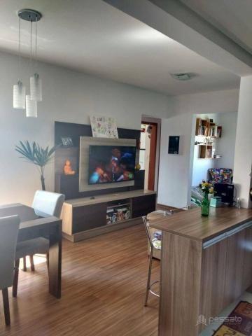 Apartamento com 3 dormitórios à venda, 69 m² por r$ 265.000,00 - vila monte carlo - cachoe - Foto 8