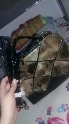 Bolsa belissima é vestido lindo