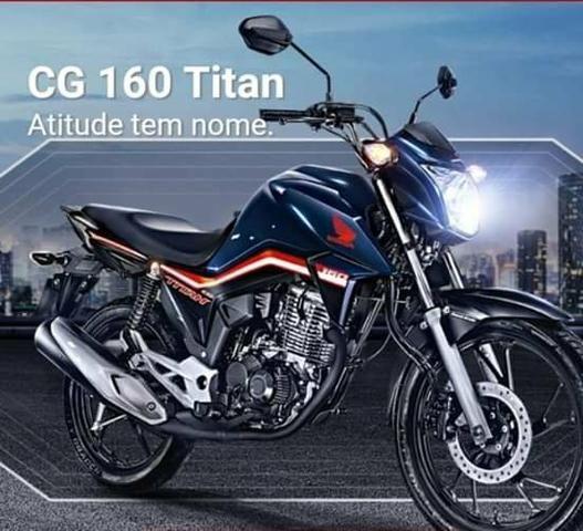 Titan 160 ex 2020