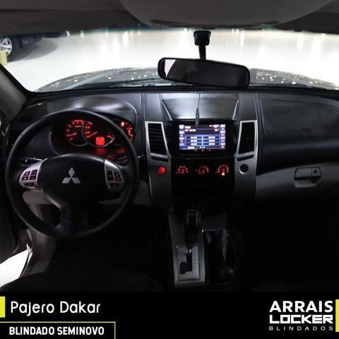 Mitsubishi pajero dakar 2012/2012 3.2 hpe 4x4 7 lugares BLINDADO - Foto 5