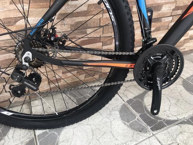 Bike South aro 29 com suspensão NOVA - Foto 5