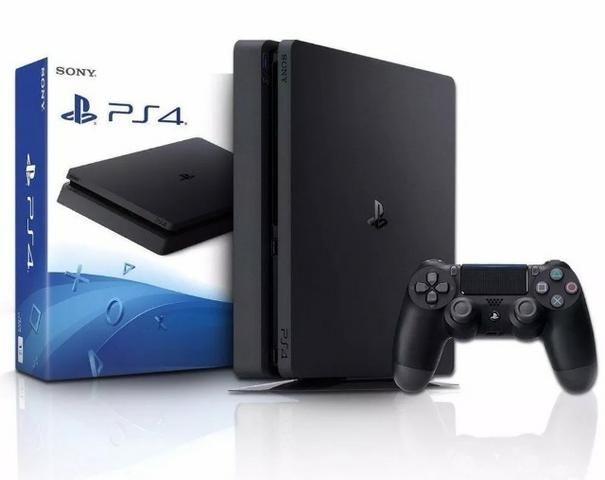 PlayStation 4 PS4 Slim 1TB Preto - N*O*V*O - Original Sony - Na Caixa Lacrado - Garantia;