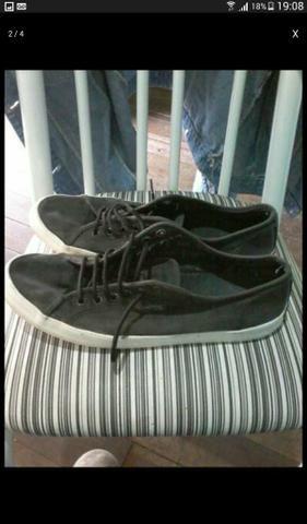 Sapato da coca cola