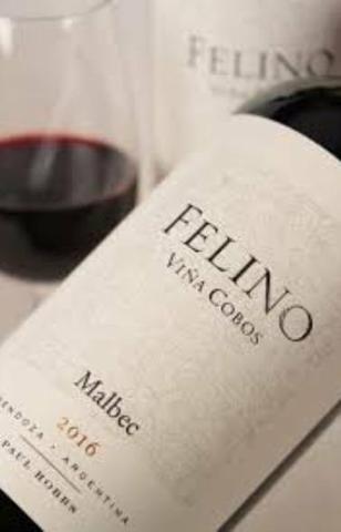 Vinho Tinto Cobos Felino Malbec 2017