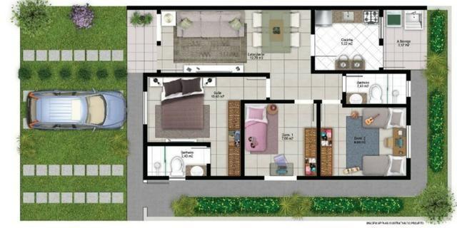 Casa de 3 quartos no Bairro Candeias - Foto 2