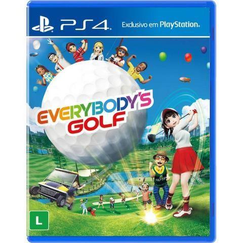 Jogo PS4 EveryBody's Golf Mídia Física