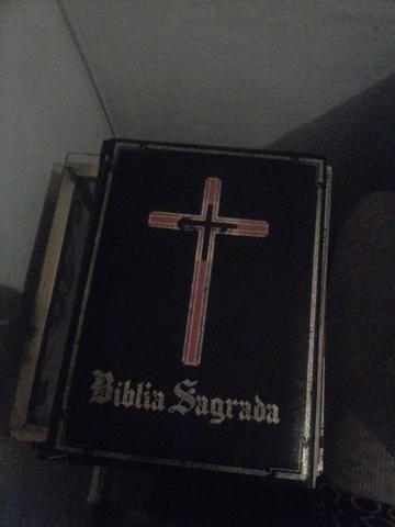 Negocio bíblia importada do Vaticano antiguidade raridade