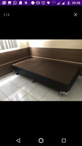 Base cama casal nova